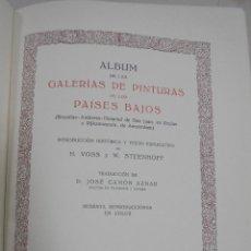 Libros de segunda mano: GALERIAS DE EUROPA. MUSEOS DE LOS PAISES BAJOS. EDITORIAL LABOR. 60 REPRODUCCIONES EN COLOR. VER. Lote 111769539