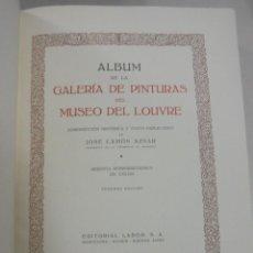 Libros de segunda mano: GALERIAS DE EUROPA. MUSEO DE LOUVRE. EDITORIAL LABOR. 60 REPRODUCCIONES EN COLOR. VER. Lote 111769799