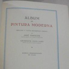Libros de segunda mano: GALERIAS DE EUROPA. PINTURA MODERNA. EDITORIAL LABOR. 60 REPRODUCCIONES EN COLOR. VER. Lote 111769891