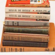 Libros de segunda mano: 9 LIBROS SOBRE MAGIA CARTAS. Lote 113306436