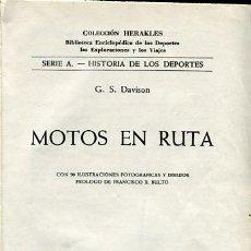 Libros de segunda mano: MOTOS EN RUTA - MOTOCICLISMO -. Lote 111813823