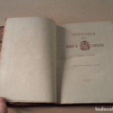 Libros de segunda mano: HISTORIA DEL DIARIO DE BARCELONA (1792-1938) - JOAQUÍN ÁLVAREZ CALVO - EJEMPLAR Nº 1. Lote 111892795