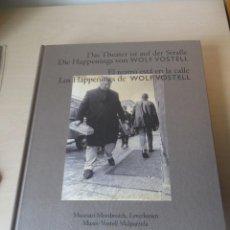 Libri di seconda mano: VOSTELL: EL TEATRO ESTÁ EN LA CALLE. LOS HAPPENINGS DE VOSTELL. Lote 111957503