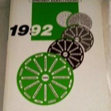 Libros de segunda mano: CATÁLOGO - JAEGER ELEKTRONIK 1992. Lote 111970039