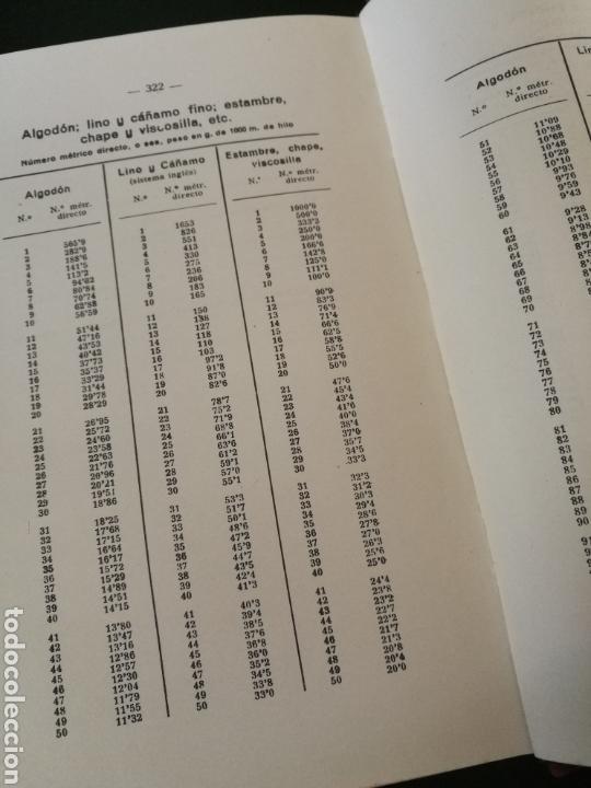 Libros de segunda mano: Cálculos y problemas textiles.(1959) Daniel Blanxart - Foto 4 - 111971568