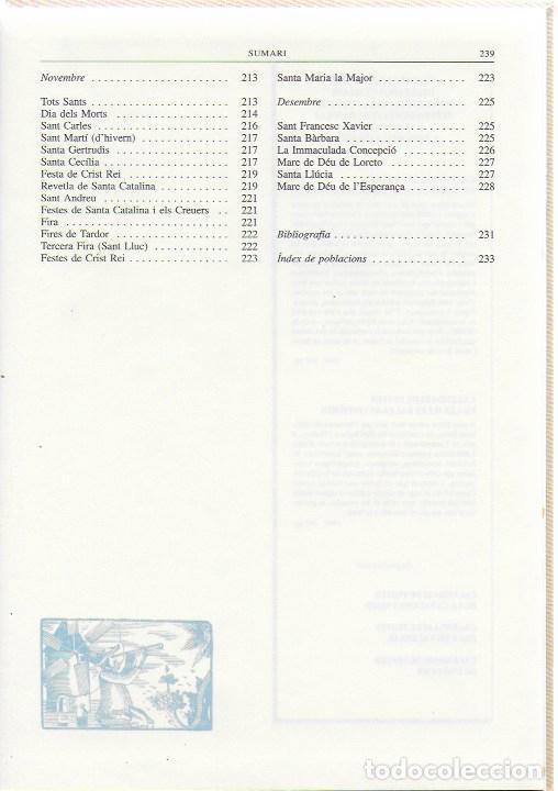 Libros de segunda mano: Calendari de festes de les Illes Balears i Pitiuses / Dir. G. Janer Manila. BCN : Altafulla, 1992. - Foto 6 - 112006875