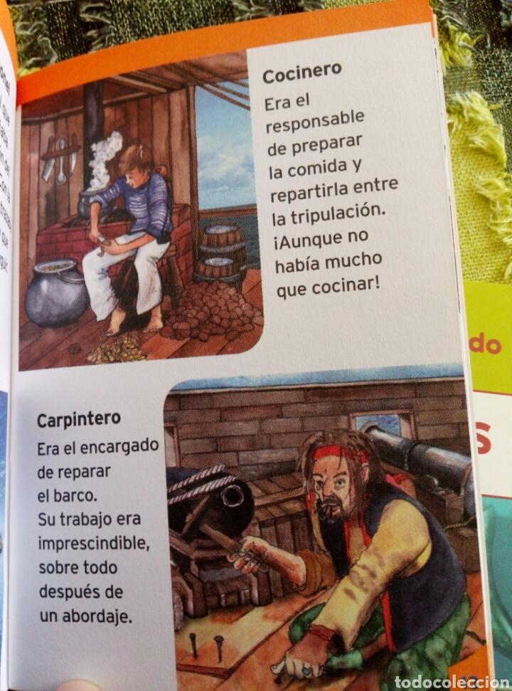 Libros de segunda mano: Colección Conoce tu mundo (6 pequeños libros)tiburones bomberos piratas informatica perros coches - Foto 4 - 112035130
