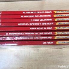 Libros de segunda mano: ELIGE TU PROPIA AVENTURA EDICION ESPAÑOLA COMPLETA EDICIONES SALDAÑA. Lote 112055111