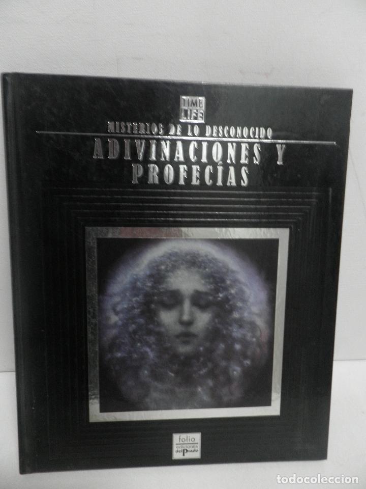 MISTERIOS DE LO DESCONOCIDO ADIVINACIONES Y PROFECÍAS - EDICIONES DEL PRADO 1993,VER FOTOS (Libros de Segunda Mano - Parapsicología y Esoterismo - Otros)
