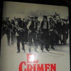 Libros de segunda mano: EL CRIMEN DE CUENCA, SALVADOR MALDONADO, ED. ARGOS VERGARA. Lote 112158567
