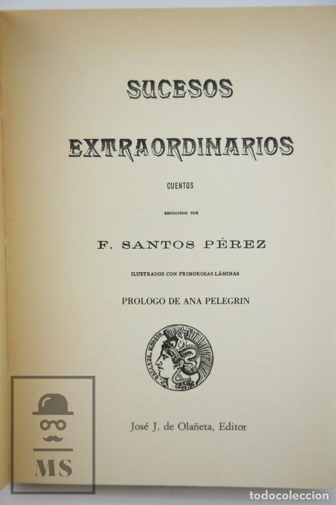 Libros de segunda mano: Libro Tapa Blanda - Sucesos Extraordinarios. S. Calleja - Ed. José. J. de Olañeta, 1982 - Foto 2 - 112306707
