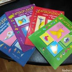 Libros de segunda mano: LOTE PAPIROFLEXIA. Lote 112321644