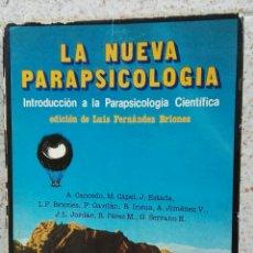 Libros de segunda mano: LA NUEVA PARAPSICOLOGÍA INTRODUCCIÓN A LA PARAPSICOLOGÍA CIENTÍFICA 1981. Lote 112329167