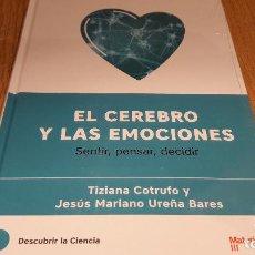 Libros de segunda mano: DESCUBRIR LA CIENCIA Nº 23 / EL CEREBRO Y LAS EMOCIONES / VV.AA. / PRECINTADO. Lote 174536150