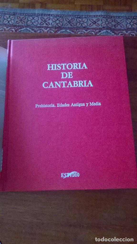 Libros de segunda mano: HISTORIA DE CANTABRIA. PREHISTORIA, EDADES ANTIGUA Y MEDIA. M.A. GARCÍA GUINEA. PRIMERA EDICIÓN 1985 - Foto 2 - 112440211