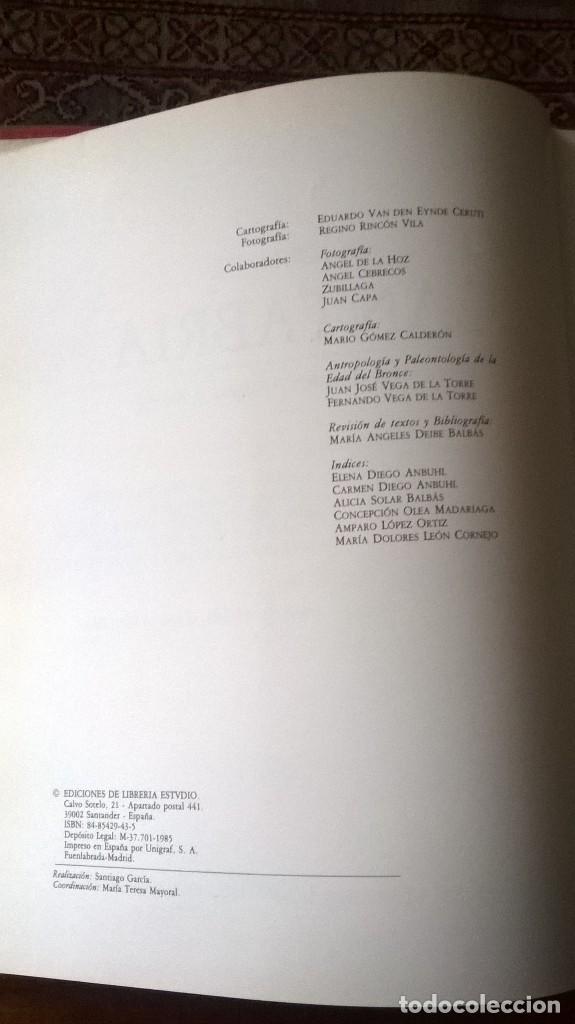 Libros de segunda mano: HISTORIA DE CANTABRIA. PREHISTORIA, EDADES ANTIGUA Y MEDIA. M.A. GARCÍA GUINEA. PRIMERA EDICIÓN 1985 - Foto 4 - 112440211