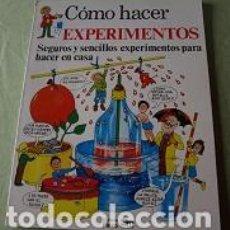 Libros de segunda mano: COMO HACER EXPERIMENTOS. Lote 112445595