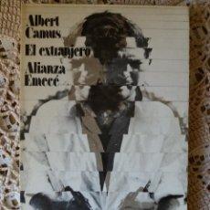 Libros de segunda mano: EL EXTRANJERO - ALBER CAMUS. Lote 112460071