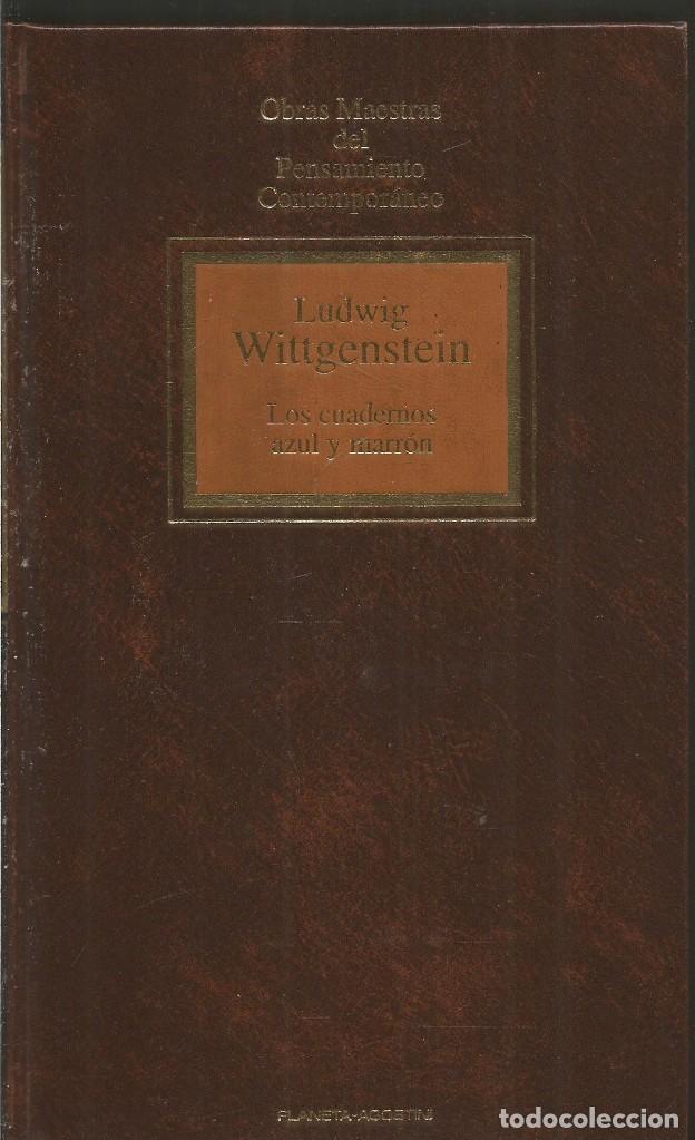ludwig wittgenstein. los cuadernos azul y marro - Comprar