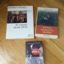 Libros de segunda mano: LOTE 3 LIBRO. HISTÓRICA.EL MUNDO DESDE 1914. SOLDADOS DE SALAMINA. MARIE CURIE.. Lote 112508340