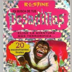Libros de segunda mano: EN BUSCA DE TUS PESADILLAS. Nº 4. R.L.STINE. EDICIONES B. (C/B). Lote 112543535