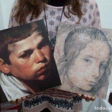 Libros de segunda mano: TUBAL VELAZQUEZ Y SEVILLA 1998 3 KILOS 29 CM + ENTRADA + PLANO DE LA EXPOSICION. Lote 112617683