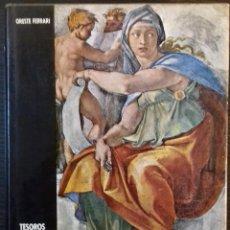 Libros de segunda mano: TESOROS ARTISTICOS DEL VATICANO - ORESTE FERRARI - DAIMON, 1973, 1ª EDICION. Lote 112649019