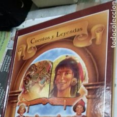 Libros de segunda mano: CUENTOS Y LEYENDAS.LEYENDA AZTECA.DIS PARTES.INGLES-ESPAÑOL.2 CD. Lote 112712939