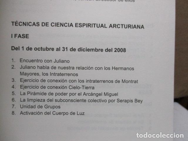 Libros de segunda mano: Técnicas de ciencia espiritual Arcturiana por Xavier Pedro Gallego - Dedicado y firmado por el autor - Foto 12 - 243311910