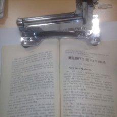 Libros de segunda mano: VIAS Y OBRAS RENFE ASTURIAS. OPOSICIONES PARA FERROVIARIOS 1948. Lote 112748607