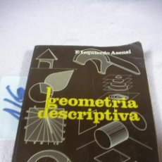 Libros de segunda mano: GEOMETRIA DESCRIPTIVA. Lote 112810055