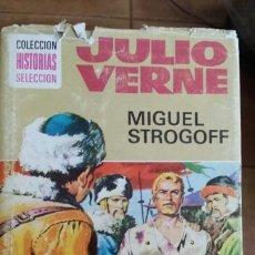 Libros de segunda mano: MIGUEL ESTRGOF JULIO VERNE. Lote 112860695
