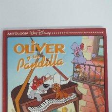 Libros de segunda mano: ANTOLOGIA WALT DISNEY 17 OLIVER Y SU PANDILLA / EL MUÑECO DE ALQUITRAN. Lote 112885915