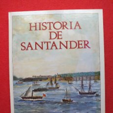 Libros de segunda mano: CANTABRIA HISTORIA DE SANTANDER ILUSTRADA EN VIÑETAS ANDY DAVID Y ROGELIO PEREZ BUSTAMANTE 1989. Lote 112897099