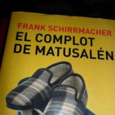 Libros de segunda mano: EL COMPLOT DE MATUSALÉN, FRANK SCHIRRMACHER, ED. TAURUS. Lote 112911583