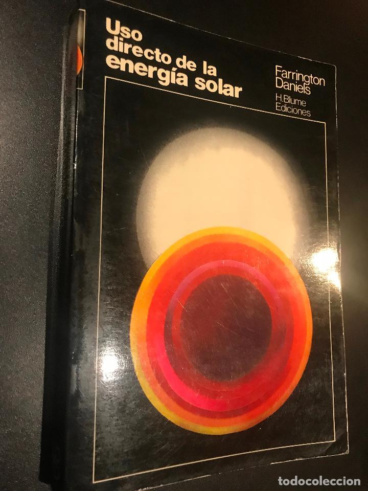 USO DIRECTO DE LA ENERGÍA SOLAR - DANIELS, FARRINGTON (Libros de Segunda Mano - Ciencias, Manuales y Oficios - Otros)
