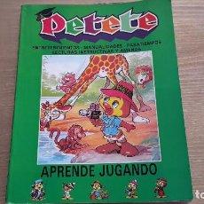 Libros de segunda mano: PETETE. APRENDE JUGANDO. Lote 112964643