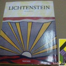 Libros de segunda mano: HENDRICKSON, JANIS: ROY LICHTENSTEIN (1923-1997). LA IRONÍA DE LO BANAL (TRAD:NURIA ROIG). Lote 112965519