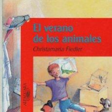 Libros de segunda mano: EL VERANO DE LOS ANIMALES - C. FIDLER - ALFAGUARA EDITORIAL 1994 / 1ª EDICION. Lote 112990691