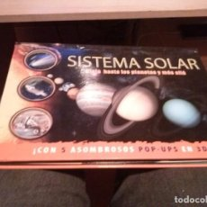 Libros de segunda mano: SISTEMA SOLAR VIAJA HASTA LOS PLANETAS Y MAS ALL CON 5 POP-US EN 3D. Lote 113033315