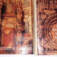 Libros de segunda mano: EL MONASTERIO DE LA PURIDAD SANTA CLARA PRIMERA FUNDACIÓN DE CLARISAS EN VALENCIA Y REINO II TOMOS. Lote 113046587