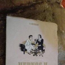 Libros de segunda mano: YERNOS Y SUEGROS. G. GRIMAUD. SOCIEDAD DE EDUCACION ATENAS. 1942. Lote 113059027
