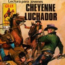 Libros de segunda mano: CHEYENNE LUCHADOR. GRAN OESTE. REVISTA GRÁFICA SEMANAL. PRODUCCIONES EDITORIALES,S.A. 1981.. Lote 113061563