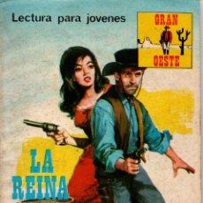 Libros de segunda mano: LA REINA DEL GANADO. GRAN OESTE. REVISTA GRÁFICA SEMANAL. PRODUCCIONES EDITORIALES,S.A. 1974. Lote 113063975