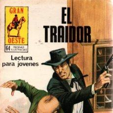 Libros de segunda mano: EL TRAIDOR. GRAN OESTE. REVISTA GRÁFICA SEMANAL. PRODUCCIONES EDITORIALES,S.A. 1981.. Lote 113065411