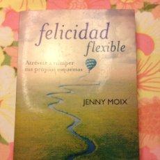 Libros de segunda mano: FELICIDAD FLEXIBLE (JENNY MOIX) AGUILAR. Lote 113122035