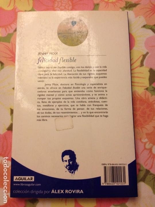 Libros de segunda mano: Felicidad flexible (Jenny Moix) Aguilar - Foto 2 - 113122035