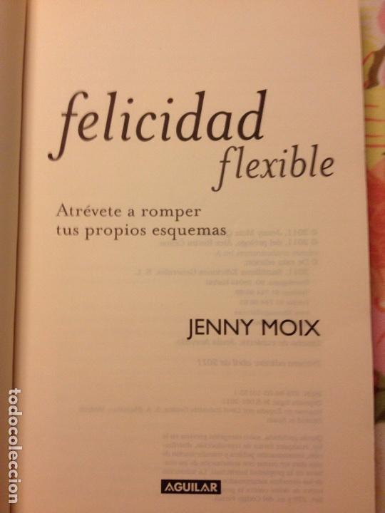 Libros de segunda mano: Felicidad flexible (Jenny Moix) Aguilar - Foto 3 - 113122035