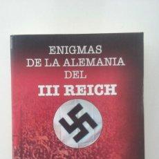 Libros de segunda mano: ENIGMAS DE LA ALEMANIA DEL III REICH - MERCEDES COMPTE . Lote 113153707