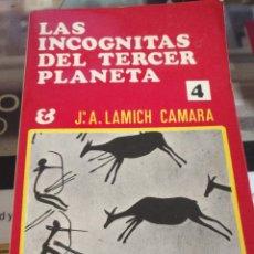 Libros de segunda mano: LAS INCOGNITAS DEL TERCER PLANETA. KARMA 7 COLECCION EGREGORA LIBROS .. Lote 113156711